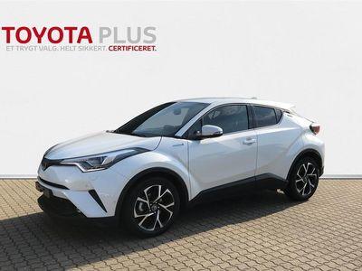 brugt Toyota C-HR 1,8 B/EL C-LUB Business LED Multidrive S 122HK 5d Aut.