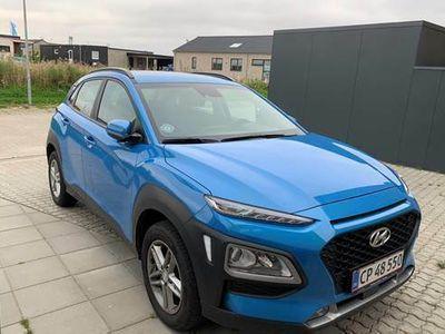 brugt Hyundai Kona 1,0 Nordic edition +