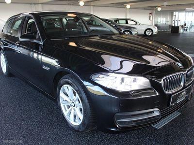 brugt BMW 520 d Touring 2,0 D Steptronic 190HK Stc Aut.