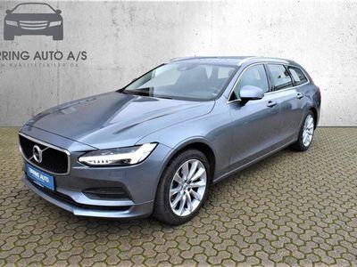 brugt Volvo V90 2,0 D4 Momentum 190HK Stc 8g Aut. - Personbil - gråmetal