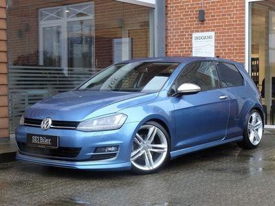 brugt VW Golf 2,0 TDI BMT DSG6 Highline 150HK aut 3d