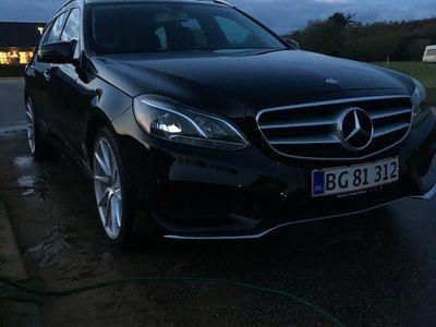 brugt Mercedes E200 CDI T 7G-TRONIC PLUS