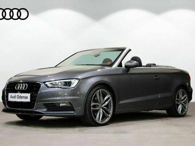 brugt Audi A3 Cabriolet 1,4 TFSi 150 Ambition S-tr.