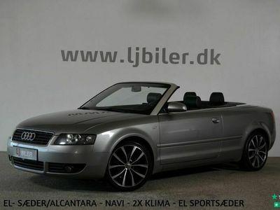brugt Audi A4 Cabriolet 3,0 V6