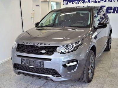brugt Land Rover Discovery Sport 2,0 TD4 180 SE