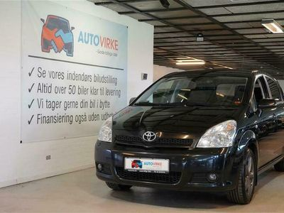 brugt Toyota Corolla Verso 7 pers. 1,8 Linea Sol 129HK