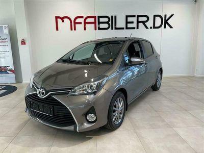 brugt Toyota Yaris 1,3 VVT-I T2 Multidrive S 100HK 5d 6g Aut.