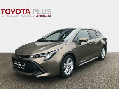 brugt Toyota Corolla Touring Sports 1,8 Hybrid Active Smart E-CVT 122HK Stc Trinl. Gear A+
