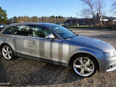 brugt Audi A4 Avant 3,0 V6 TDI DPF Quattro Tiptr. 240HK Stc 6g Aut.
