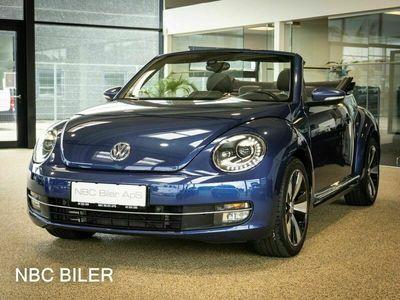 brugt VW Beetle The1,4 TSi 150 Design Cabriolet