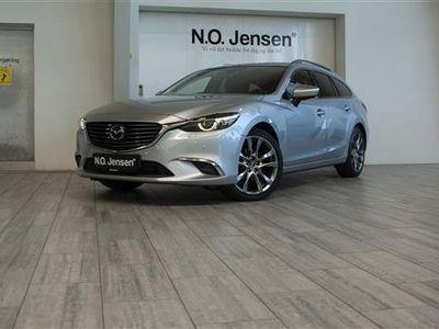 used Mazda 6 2,2 Skyactiv-D Optimum 150HK Stc 6g