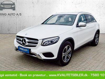 brugt Mercedes GLC220 d 2,1 D 4-Matic 9G-Tronic 170HK 5d 9g Aut. - Personbil - hvid