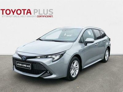 brugt Toyota Corolla Touring Sports 1,8 Hybrid H3 Smart Safety Plus E-CVT 122HK Stc Trinl. Gear A+++
