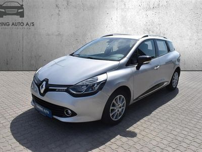 brugt Renault Clio Sport Tourer 1,5 Energy DCI Expression 90HK Stc - Personbil - Sølvmetal