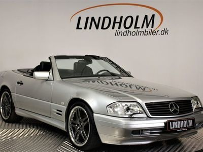 brugt Mercedes SL500 5,0 Cabriolet