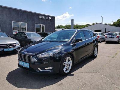 brugt Ford Focus 1,5 EcoBoost Titanium 150HK Stc 6g Aut.