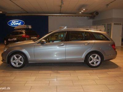 brugt Mercedes C200 2,0 CDI BlueEfficiency 136HK 7g Aut.
