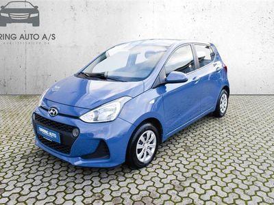 brugt Hyundai i10 1,0 Comfort 66HK 5d - Personbil - blå