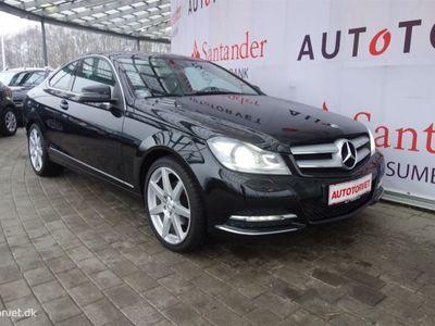 brugt Mercedes C200 1,8 184HK 2d 6g