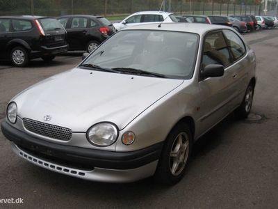 brugt Toyota Corolla 1,3 Linea Terra 86HK 3d Aut.