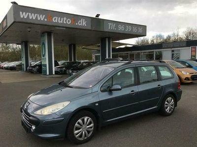 brugt Peugeot 307 1,6 HDi Stc. 90HK Stc