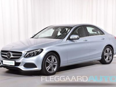 brugt Mercedes C220 d 2,1 D CDI Blue TEC Business Plus Aut. 170HK