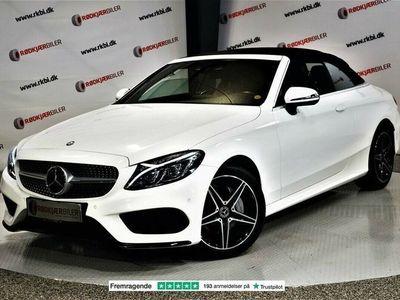 brugt Mercedes C200 2,0 Cabriolet aut. 4-M