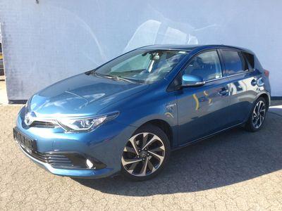 brugt Toyota Auris Hybrid 1,8 B/EL Style 136HK 5d Aut. A++