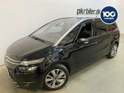 brugt Citroën Grand C4 Picasso 2,0 EAT6 Intensive 150HK MPV aut 5d