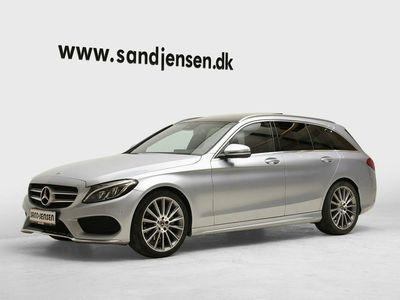 usado Mercedes C220 d 2,2 AMG Line stc. aut.