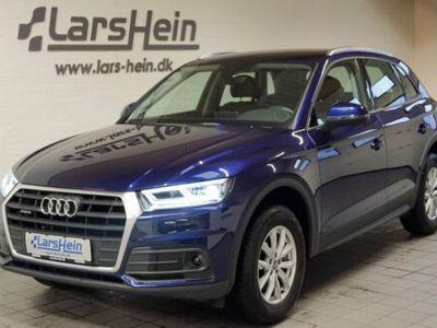 brugt Audi Q5 TDi 190 quattro S-tr.