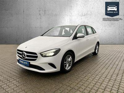 brugt Mercedes B180 d 1,5 D 7G-DCT 116HK 7g Aut. - Personbil - Hvid