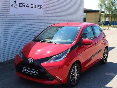 used Toyota Aygo 1,0 VVT-I X-Play + Touch Safety Sense X-Auto 69HK 5d Aut.