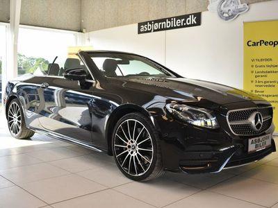 brugt Mercedes E400 0 AMG Line Cabriolet aut. 4-M
