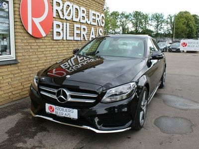 used Mercedes C200 d 1,6 AMG Line