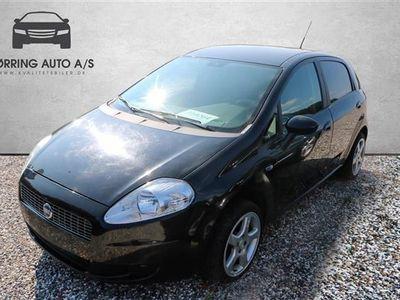 gebraucht Fiat Grande Punto 1,3 JTD Active 75HK 5d - Personbil - Sortmetal