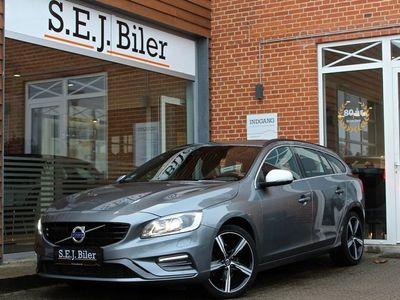 brugt Volvo V60 2,0 D4 R-Design 190HK st.car aut