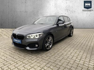 brugt BMW 120 i 2,0 M-Sport Steptronic 184HK 5d 8g Aut. - Personbil - Gråmetal