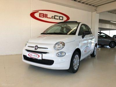 brugt Fiat 500C 1,2 Eco Pop Start & Stop 69HK Cabr.
