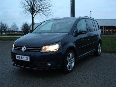 brugt VW Touran 1,6 TDi 105 Comfortline BMT