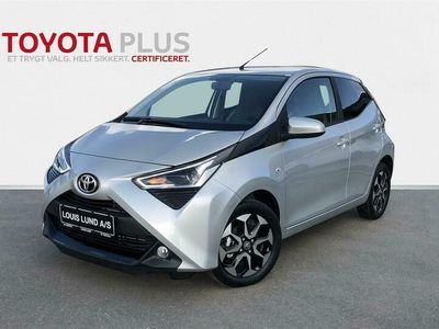 brugt Toyota Aygo 1,0 VVT-I X-Press DAB+ 72HK 5d A++