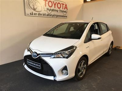 brugt Toyota Yaris Hybrid 1,5 VVT-I Touch 100HK 5d 6g