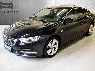 brugt Opel Insignia Grand Sport 1,5 Turbo Dynamic Start/Stop 165HK 5d 6g - Personbil - mørkblåmetal