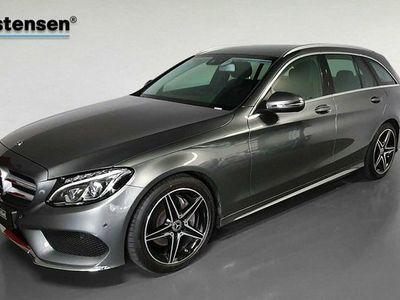 brugt Mercedes C220 d 2,2 Edition C stc. aut.