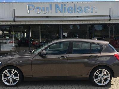 brugt BMW 120 d 2,0 D 184HK 5d 8g Aut.