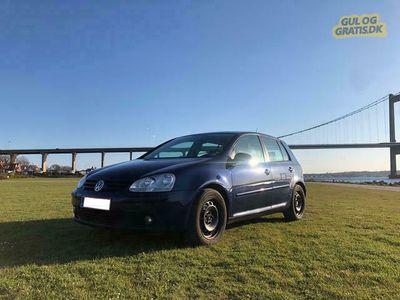 brugt VW Golf V 1,4 FSI 90 hk 5dørs sælges