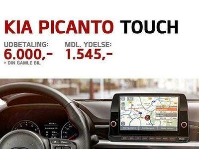 brugt Kia Picanto 1,0 MPI Prestige m/Upgrade 67HK 5d