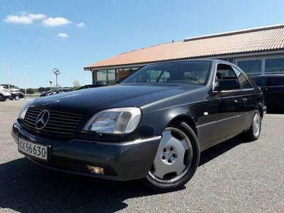 brugt Mercedes S500 5,0 Coupé