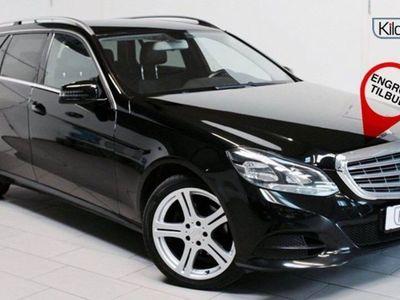 gebraucht Mercedes E200 2 CDi Elegance st.car BE