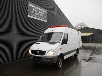 brugt Mercedes Sprinter 2,2 D 4X4 316 CDI Aut. 163HK Van 2011